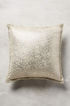 Crackled Patina Pillow - anthropologie.com