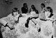 Richard Starkey, Paul McCartney, and John Lennon (haha cute!!)