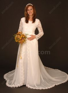 chiffon wedding dress with long sleeves - Google Search