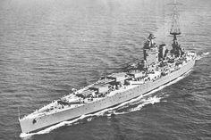 HMS Nelson quarter view