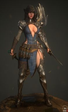 ArtStation - Assassin, Mia Kim