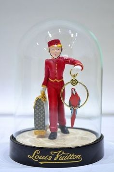 AUTHENTIC LOUIS VUITTON SNOW GLOBE DOME VIP Extremely Rare Bell Boy 2012 | eBay