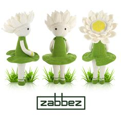 Looking for your next project? You're going to love Water Lily Winnie flower doll by designer Zabbez. - via @Craftsy