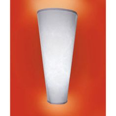Hsn Battery Operated Wall Sconces : Wireless Battery-Powered LED Wall Sconce - White Shade at HSN.com Lighting Pinterest ...