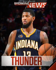 Paul George to the Thunder!