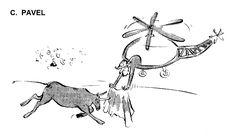 Caricatura de C. PAVEL, publicata in almanahul PERPETUUM COMIC '97 editat de URZICA, revista de satira si umor din Romania