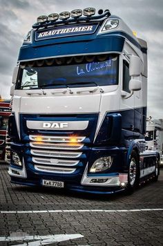 DAF XF106  #truck #trucks #trucker #trucking #transport #logistiek  #inspiratie #trucksofPinterest #vrachtwagens  #truckin #truckstop #trucknation #truckers #truckspotting #truckdaily #truckerslife #truckinglife #DAF #DAFtruck Semi Trucks, Big Rig Trucks, Cool Trucks, Customised Trucks, Custom Trucks, Volvo Trucks, Trailer, Bike Life, Diesel