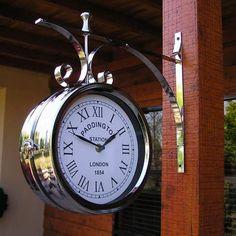 Train Station Clock, Tick Tock Clock, Unusual Clocks, London Clock, Steampunk Clock, Father Time, Time Stood Still, Old Clocks, Time Clock