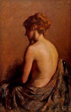 Nude Janet Agnes Cumbrae-Stewart (1883-1960) Australia