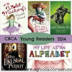 CBCA Book Awards Shortlist 2014 ~ chapter books for Young Readers.