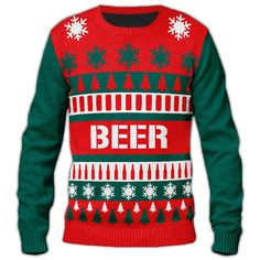 If you're looking for an ugly Christmas sweater to have fun with ...