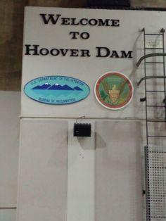 Hover Dam ~ Nevada-Arizona ~ Originally Called Bolder Dam ~ Name Changed To Honor President Herbert Hoover