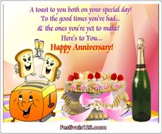 Happy Anniversary Greetings | ... Cards, Funny Cards, Cute Cards and Wishes: Happy Anniversary ~ Wedding
