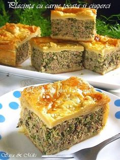 » Placinta cu carne tocata si ciuperciCulorile din Farfurie Mini Appetizers, Appetizer Recipes, Cooking Time, Cooking Recipes, Good Food, Yummy Food, Puff Pastry Recipes, Romanian Food, Recipes From Heaven