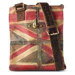 VIVIENNE WESTWOOD Union Jack messenger bag