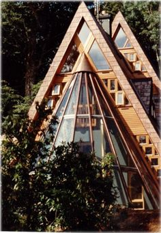 Cottage Life-- Mobile -- Straight As for these beautifully designed A-frame cabins