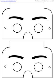 Máscaras de carnaval + de 20 idéias criativas de máscaras pra fazer em casa. Confira nossos moldes para máscaras de EVA, Feltro e papel. Máscara para colorir e muito tudo FÁCIL. Lego Party Games, Lego Themed Party, Lego Birthday Party, 5th Birthday, Lego Ninjago, Lego Duplo, Lego Classroom Theme, Lego Friends Party, Art Hama