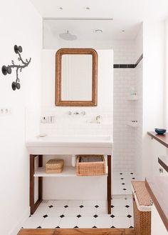 Si estás construyendo tu casa o piensas remodelar tu cuarto de baño y no dispones de muchos metros para él te interesa echar un vistazo a este recorrido que te proponemos.