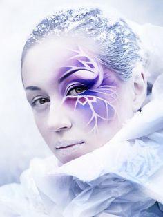 snow fairy makeup