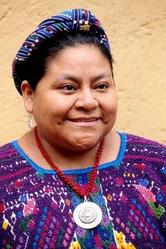 Rigoberta Menchu Tum  (Photo credit: Courtesy)