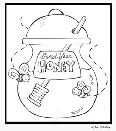 A mini-coloring page for the mini-people in your family.