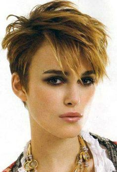 short hair styles for women- totally 80's, but I like it