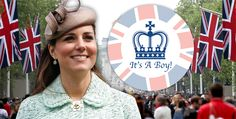 It's A Boy! Kate Middleton Gives Birth 7-22-13
