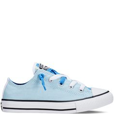 6ac377802346 Chuck Taylor All Star Loopholes Slip Yth Jr - Ambient Blue Converse  Sneakers