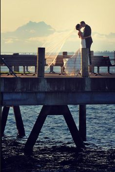 Alki. My parents did their wedding photos on this pier.