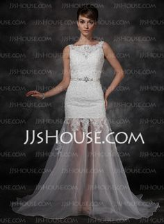 A-Line/Princess Dress With Lace Beadwork Sequins - JJsHouse