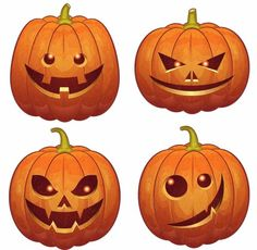 Jack O Lantern Wall Decor (Pack of - Thanksgiving Decorations Diy Amazing Pumpkin Carving, Scary Pumpkin, Pumpkin Faces, Pumkin Carving Easy, Jack O'lantern, Pumpkin Carving Templates, Jack O Lantern Faces, Homemade Halloween Decorations, Pumpkin Decorating