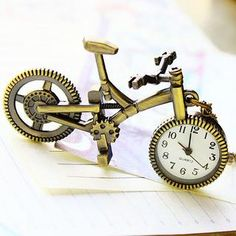 Bicycle Pocket Watch