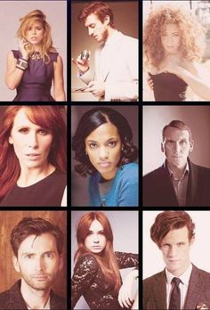 Billie Piper, Arthur Darvill, Alex Kingston, Catherine Tate, Freema Agyeman, Christopher Eccleston, David Tennant, Karen Gillan, Matt Smith