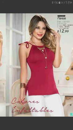 Trendy Outfits, Summer Outfits, Trendy Tops For Women, Blouse And Skirt, Short Tops, Cute Tops, I Dress, Blouse Designs, Casual Looks