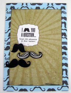 mambi blog — me & my BIG ideas - mustache card