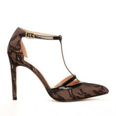 Nicola t-strap heel