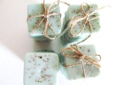 Wedding Favors Soap Set of 6  Bridal Shower  by kitschandfancy, $6.00