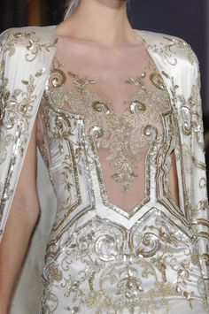 ZUHAIR MURAD SPRING 2013 COUTURE DETAILS