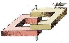 Les dessins aux perspectives impossibles d'Anatoly Konenko
