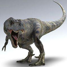 jurassic park t rex 3d model