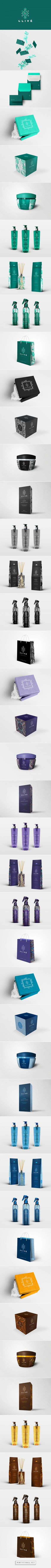 Clivê Cosmetics Branding and Packaging by Jonathan Nacif Branding Agency, Business Branding, Cosmetic Design, Cosmetic Logo, Identity Design, Brand Identity, Visual Identity, Brand Manual, Watercolor Logo