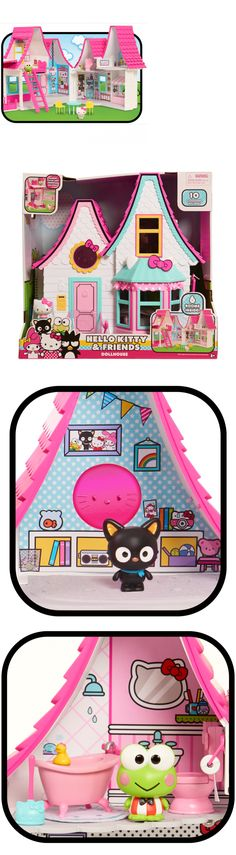 Hello Kitty 5204: Dollhouse Toys Girls Kids Great Gift Miniature House Games 10 Play Accessories -> BUY IT NOW ONLY: $62.21 on eBay!