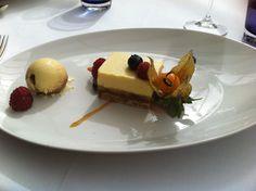 Dessert at Chewton Glen hotel