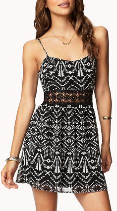 Tribal Print Dress <3