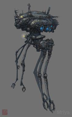 ArtStation - Reconnaissance Robot, min seub Jung