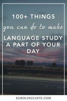 Language Study, French Language Learning, Language Lessons, Learn A New Language, Learn Portuguese, Learn Russian, Learn French, Learn English, Spanish English