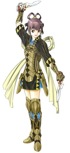 Suikoden V - Miakis [I've always enjoyed the fashion of Suikoden V. I would love to have clothes of this design. - TL]