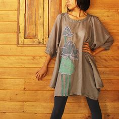 Hey, I found this really awesome Etsy listing at https://www.etsy.com/listing/74398546/artistic-collectionlotus-dress-gray-mix