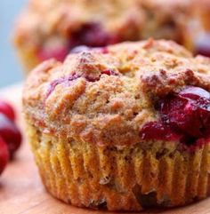 Pumpkin Cranberry Muffins (Gluten Free and Paleo Friendly) | Simple Dish | Quick, Easy, & Healthy Recipes for Dinner