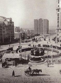 Glorieta de Cuatro Caminos, en 1925